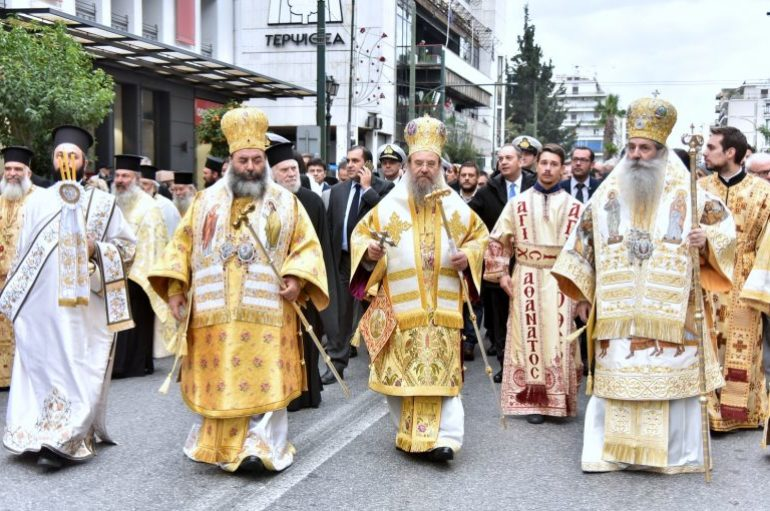 Ο Πειραιάς εόρτασε τον Πολιούχο του Άγιο Σπυρίδωνα