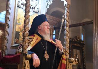 Ο Οικ. Πατριάρχης στον Ιερό Ναό του Αγίου Νικολάου Υψωμαθείων