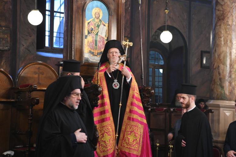 """Οικ. Πατριάρχης: """"Δεν νοείται μεταξύ Αγίου Όρους και Κωνσταντινουπόλεως καμμία διαφοροποίησις"""""""