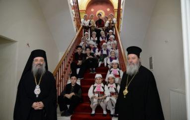 Το χαρμόσυνο μήνυμα των Χριστουγέννων στο Επισκοπείο των Πατρών