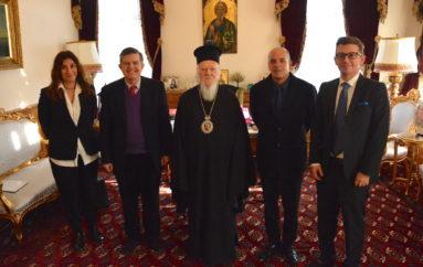 Ο Αθ. Μαρτίνος Άρχων Έξαρχος της Αγίας του Χριστού Μεγάλης Εκκλησίας, στον Οικ. Πατριάρχη