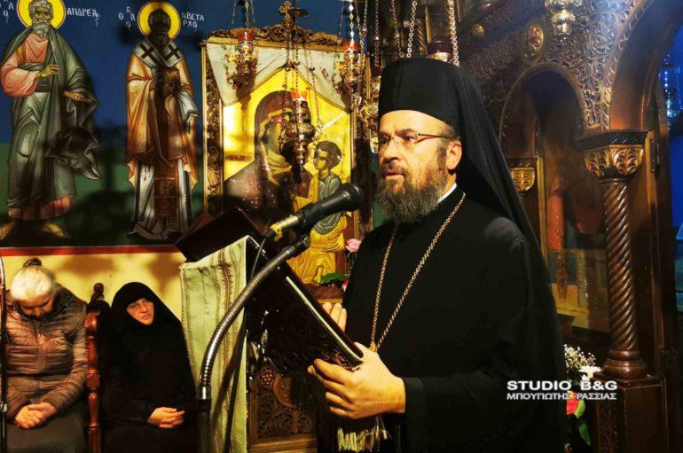 Ο Αρχιμ. Ειρηναίος Παναγιωτόπουλος ομιλητής στην Ι. Μονή Αγ. Μαρίνας Άργους