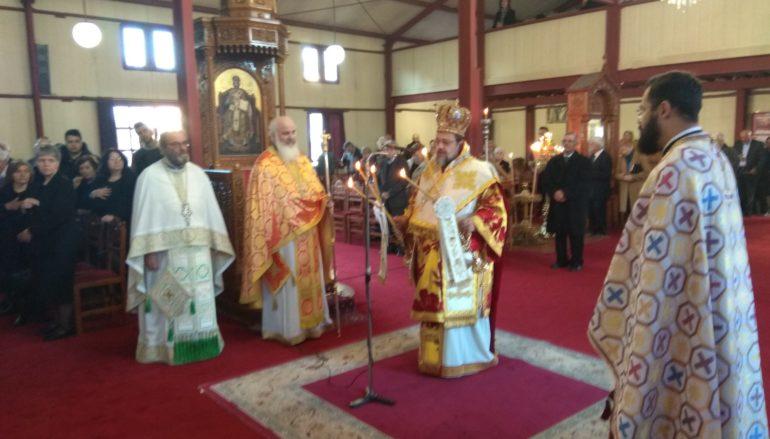 Ο Μητροπολίτης Μεσσηνίας στον Ι. Ναό Αγίας Αικατερίνης Καλαμάτας