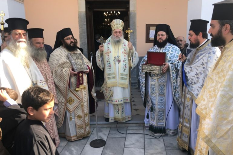 Ο εορτασμός του Αγίου Σπυρίδωνος στο νησί της Νάξου