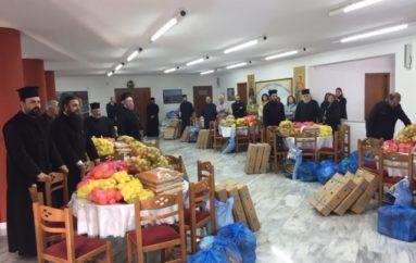 Διανομή τροφίμων από την Ιερά Μητρόπολη Μαντινείας