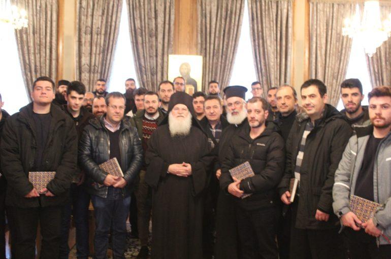 Φοιτητές της Εκκλησιαστικής Ακαδημίας Θεσσαλονίκης στο Άγιον Όρος