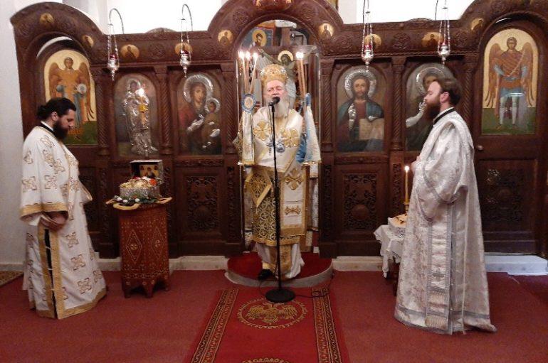 Ιερά Αγρυπνία στον Ι. Ναό Αγίας Βαρβάρας Χαλκίδος