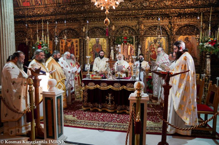 Η αρχαιοπρεπής Θεία Λειτουργία του Αγίου Ιακώβου στη Βέροια