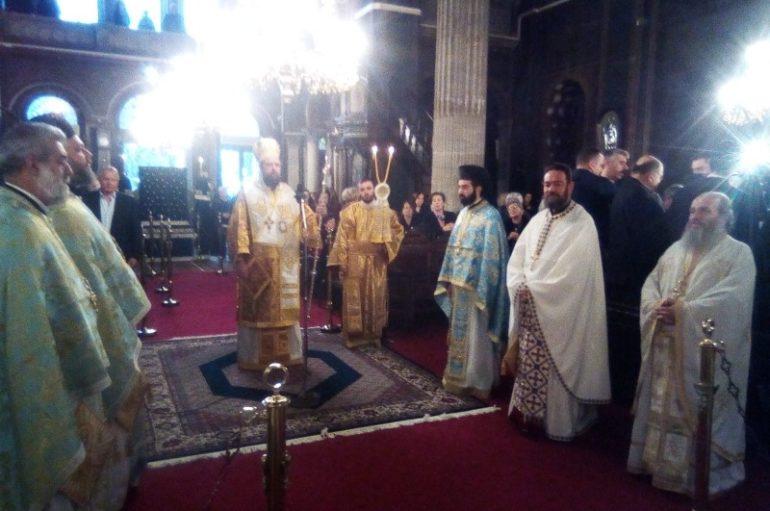 Ο Επίσκοπος Ωρεών στην πανήγυρη του Ι. Ναού Αγίου Νικολάου Χαλκίδος