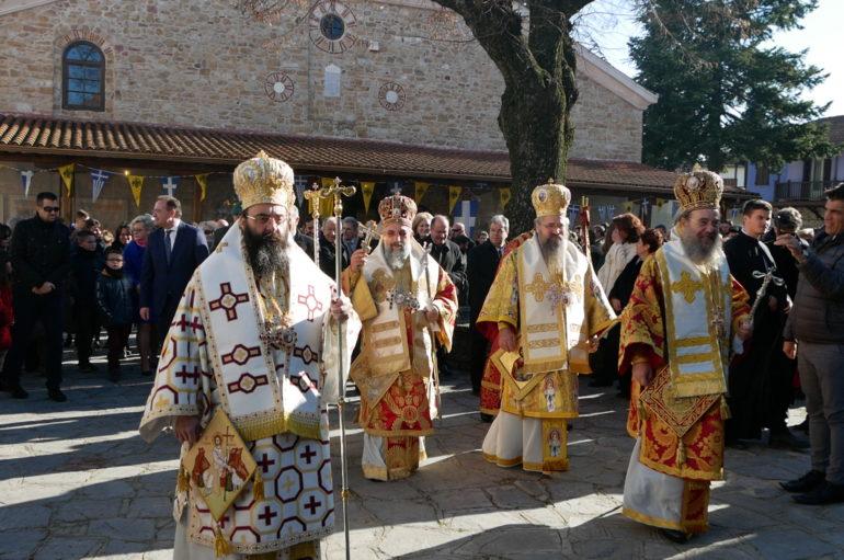 Η Αρναία εόρτασε τον Πολιούχο της Άγιο Στέφανο