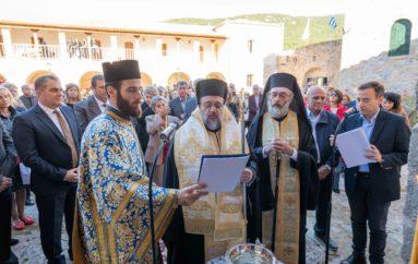 Ο Μητροπολίτης Μεσσηνίας εγκαινίασε Αρχονταρίκι στην Ι. Μονή Βελανιδιάς