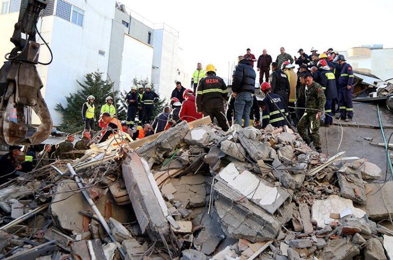 Ανθρωπιστική βοήθεια προς τους σεισμόπληκτους της Αλβανίας από την Ι. Μ. Άρτης