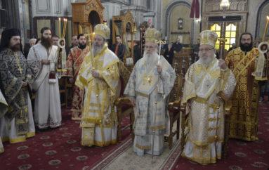 Η εορτή του Αγίου Σπυρίδωνος στην Ι. Μητρόπολη Αιτωλίας