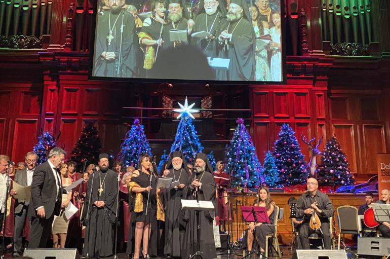 Περισσότεροι από 3.000 πιστοί έψαλαν τα κάλαντα στον Αρχιεπίσκοπο Αυστραλίας