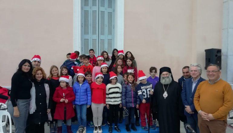 Παραμονή Χριστουγέννων στην Ιερά Μητρόπολη Μάνης