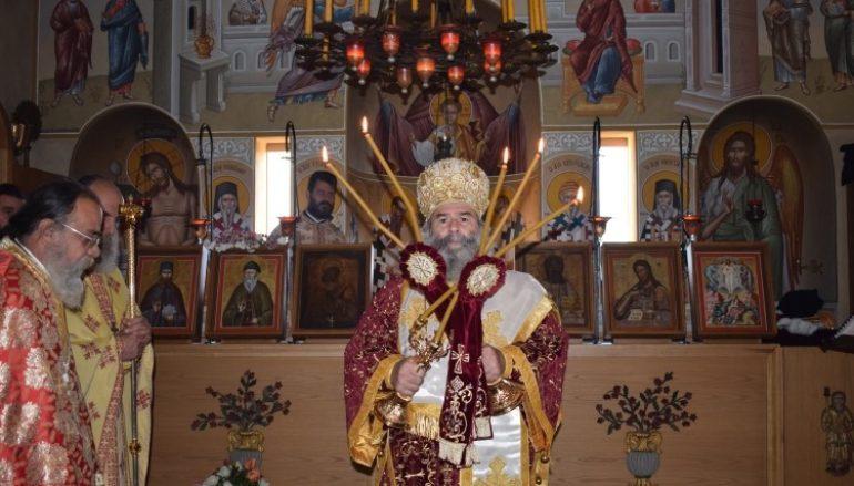 Η εορτή του Οσίου Πορφυρίου στο Ιερό Κάθισμα Δολών Μεσσηνίας