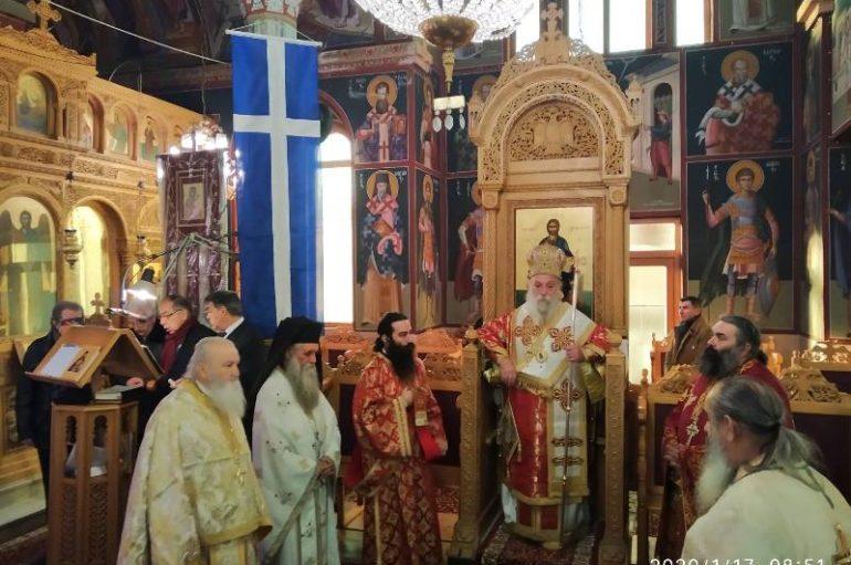 Ο εορτασμός του Αγίου Γεωργίου του εκ Τσουρχλίου στη γενέτειρά του