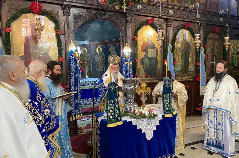 Λαμπρός εορτασμός των Θεοφανείων στα Γρεβενά