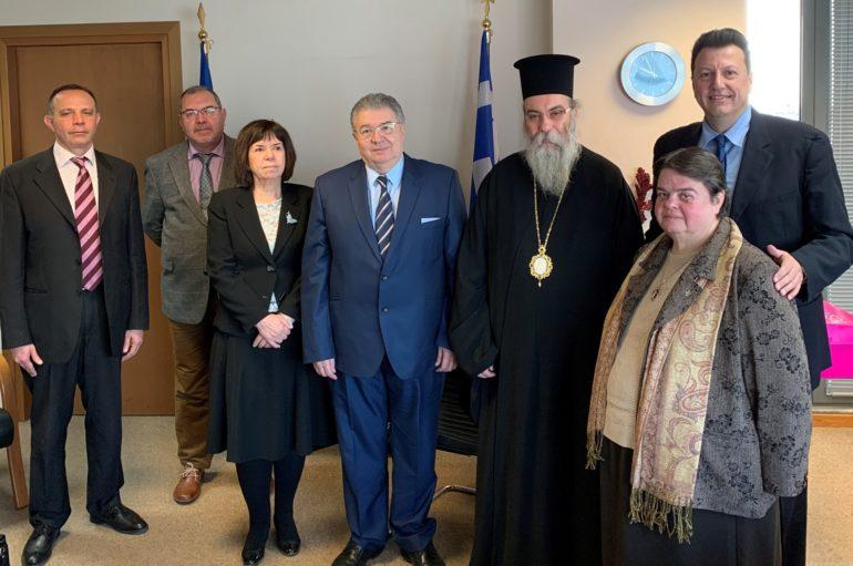 Συνάντηση Γεν. Γραμματέα Αποδήμου Ελληνισμού με τον Μητροπολίτη Κισάμου