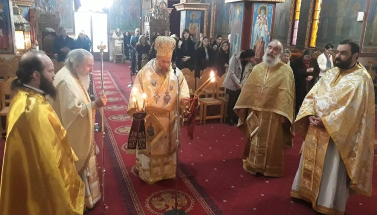 Εορτή του Οσίου Ευθυμίου στην Ι. Μ. Θεσσαλιώτιδος