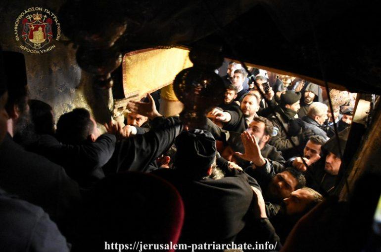 Βίαια επεισόδια μεταξύ Ορθοδόξων και Αρμενίων στο Σπήλαιο της Βηθλεέμ