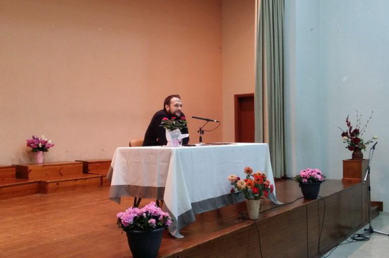 Ομιλία στη Σχολή Γονέων της Ι. Μητροπόλεως Πρεβέζης
