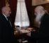 Ο Πρέσβης της Αιγύπτου στον Αρχιεπίσκοπο Ιερώνυμο