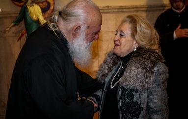 Στον Αρχιεπίσκοπο Ιερώνυμο η Βασιλική Θάνου