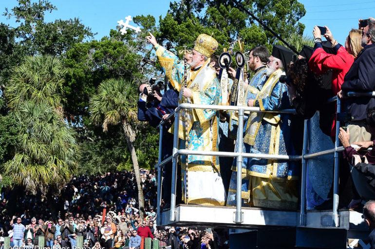 Ο εορτασμός των Θεοφανείων στην Ι. Αρχιεπισκοπή Αμερικής