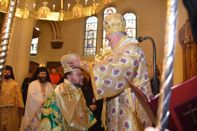 Χειροτονία του Επισκόπου Απολλωνιάδος στην Ι. Μητρόπολη Βελγίου