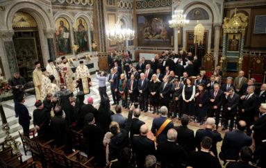 Δοξολογία για το νέο έτος στον Καθεδρικό Ναό Αθηνών