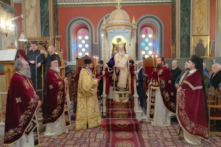 Ο εορτασμός του Αγίου Βασιλείου στην Ι. Μητρόπολη Μαντινείας