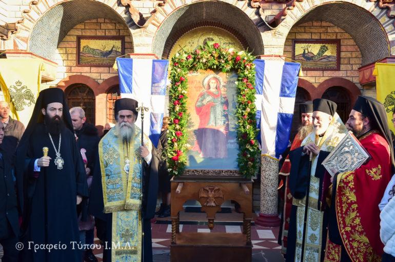 Εσπερινός της Αγίας Κυράννης της Οσσαίας στην Ι. Μ. Λαγκαδά