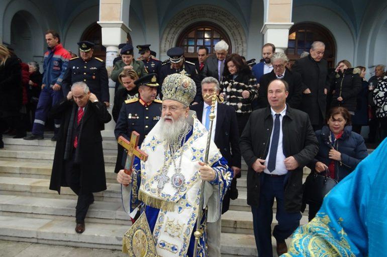 Η εορτή των Θεοφανείων στην Ι. Μητρόπολη Κορίνθου