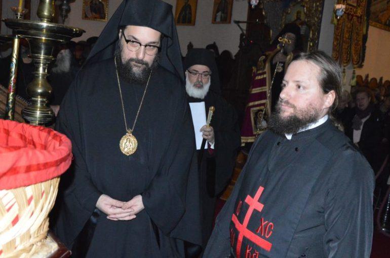Κουρά Μοναχού στην Ιερά Μονή Αγίας Τριάδος Τζαγκαρόλων