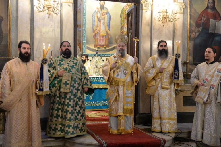 Πατρών: «Το κέντρο εορτασμού των Τριών Ιεραρχών είναι ο Εκκλησιασμός των μαθητών»