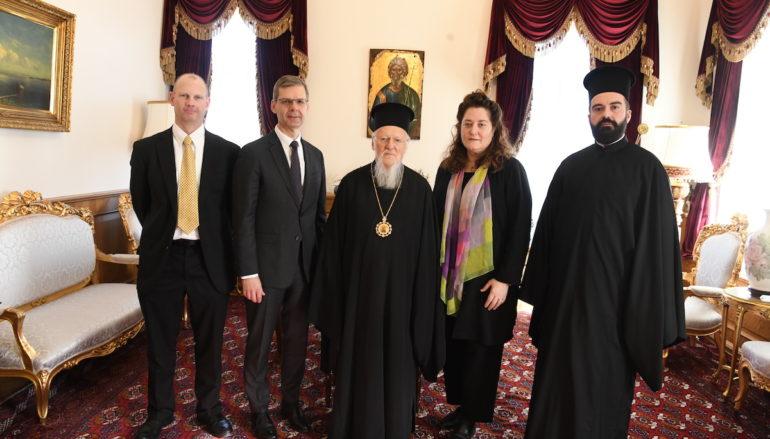 Αντιπροσωπεία του Μουσείου της Βίβλου των ΗΠΑ στο Οικ. Πατριαρχείο