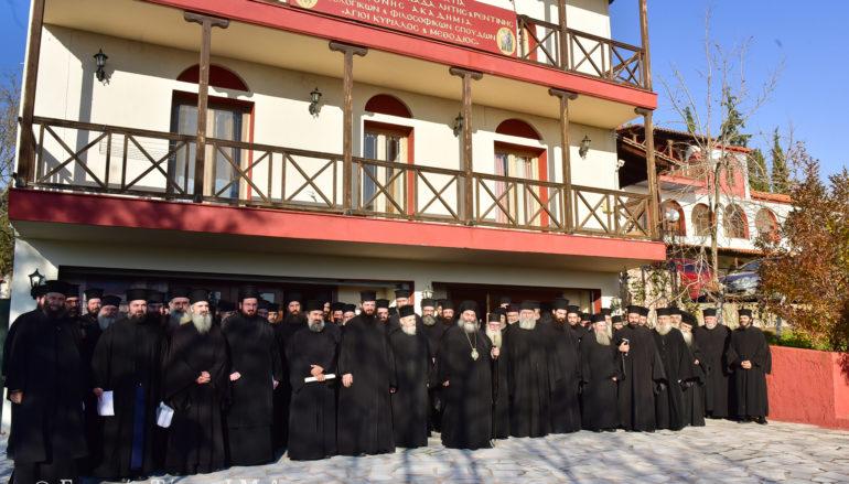 Ιερατική Σύναξη στην Ιερά Μητρόπολη Λαγκαδά