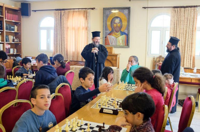 Διενοριακό Πρωτάθλημα Σκάκι στην Ι. Μητρόπολη Γλυφάδας