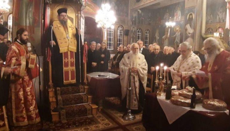 Εσπερινός του Αγίου Γεωργίου εξ Ιωαννίνων στη Λάρισα