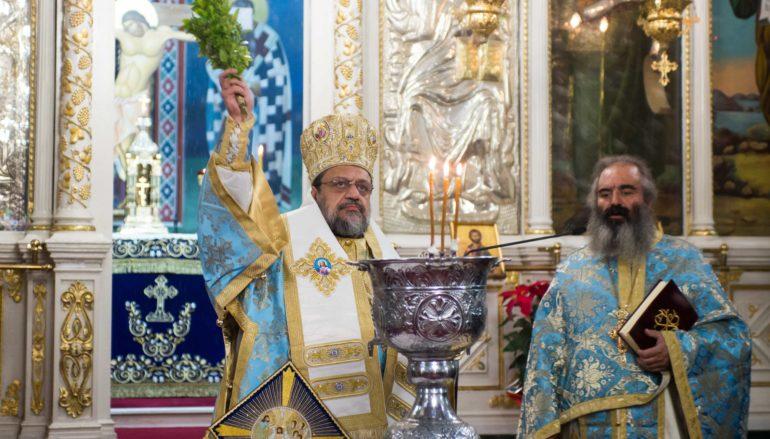 Η παραμονή των Θεοφανείων στην Ι. Μητρόπολη Μεσσηνίας