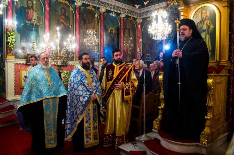 Ο εσπερινός του Αγίου Ιωάννου στην Ι. Μητρόπολη Μεσσηνίας