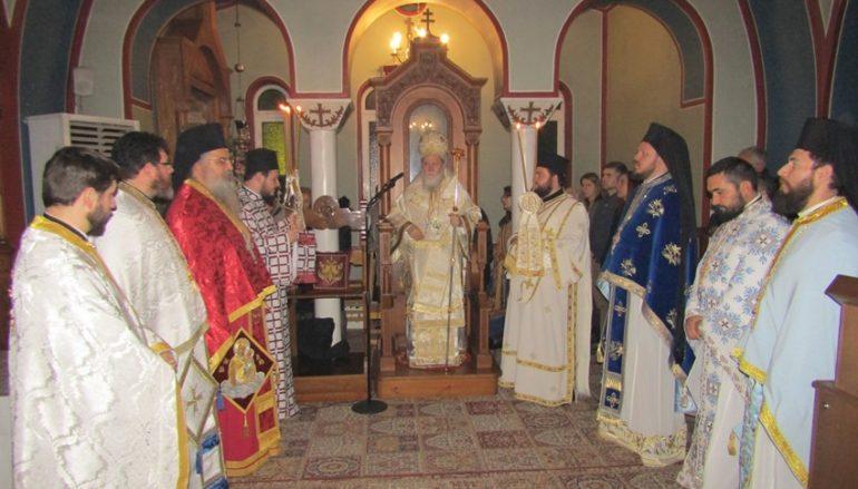Ο εορτασμός της Παναγίας Παραμυθίας στην Ι. Μ. Κορίνθου