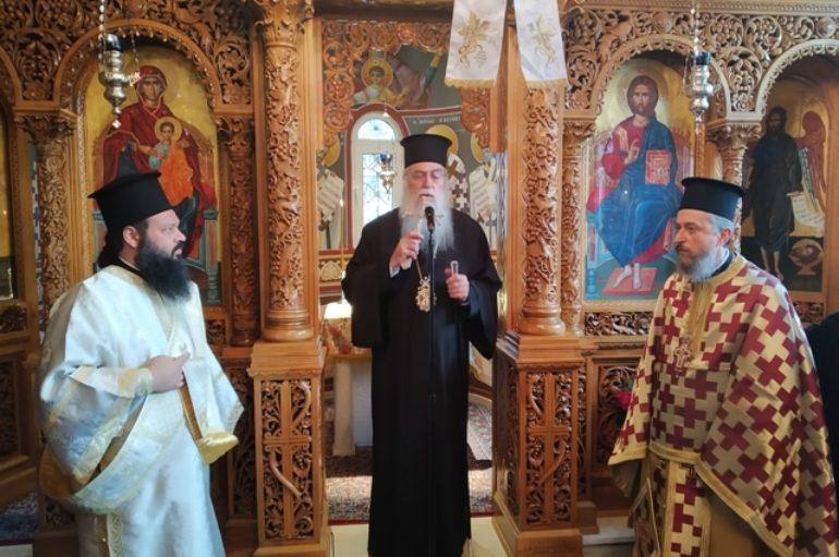 Εορτή του Αγίου Ιωάννου του Χρυσοστόμου στην Ι. Μ. Περιστερίου