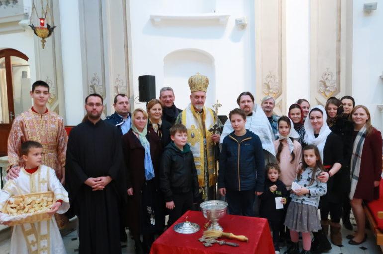 Ο Μητροπολίτης Γαλλίας στο Μονακό για τα Θεοφάνεια