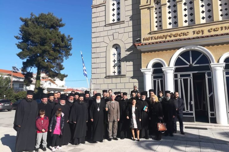 Εκδήλωση αποφοίτων του Εκκλησιαστικού Λυκείου Κορίνθου