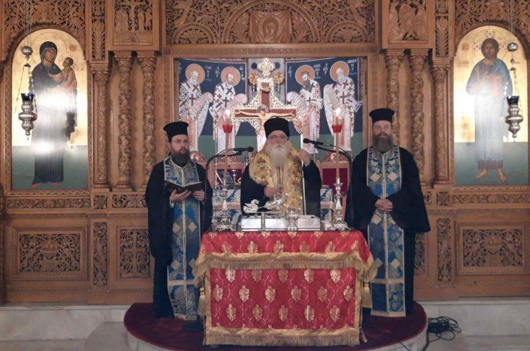 Την βασιλόπιτα των Ιεροψαλτών ευλόγησε ο Μητροπολίτης Δημητριάδος