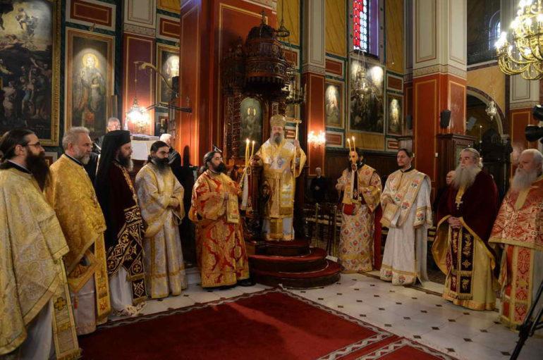 Πρωτοχρονιά στην Ιερά Μητρόπολη Πατρών