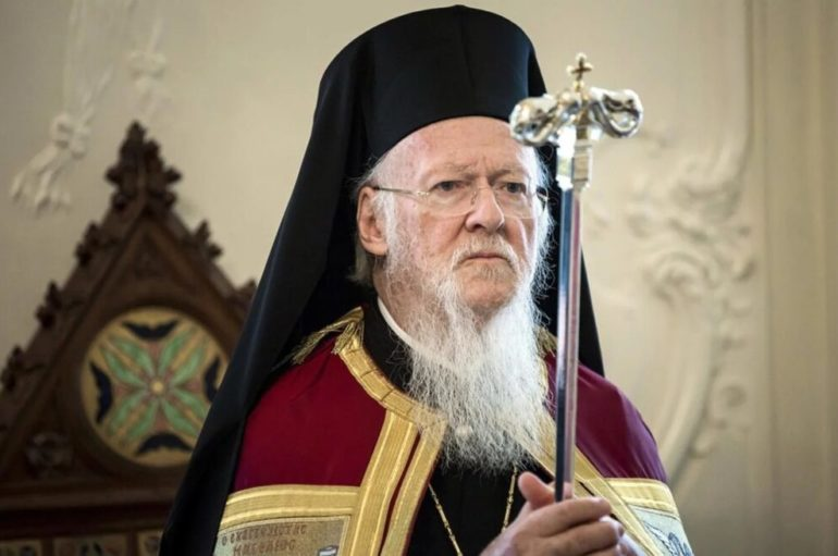 Μήνυμα συμπαθείας του Οικ. Πατριάρχη προς τον Πρόεδρο της Ουκρανίας