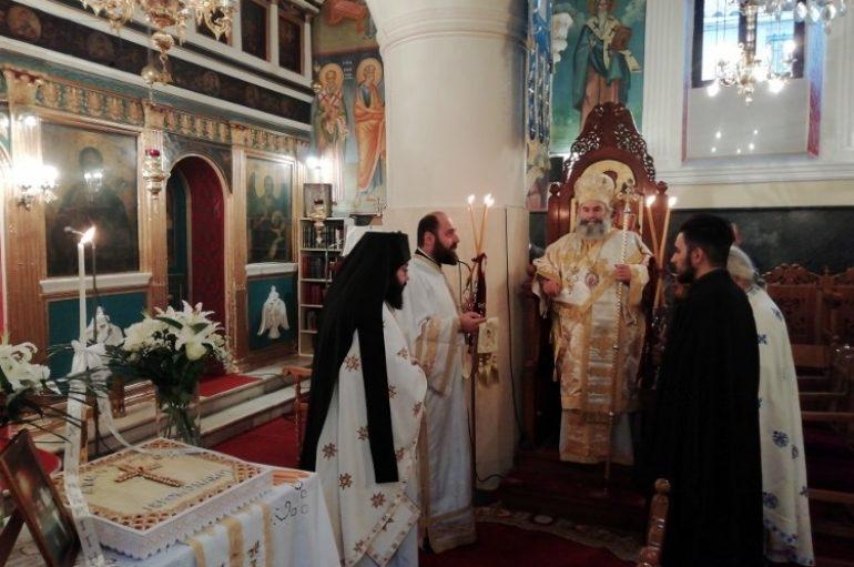 Αρχιερατική Θεία Λειτουργία στον Ι. Ν. Αγ. Νικολάου Γυθείου